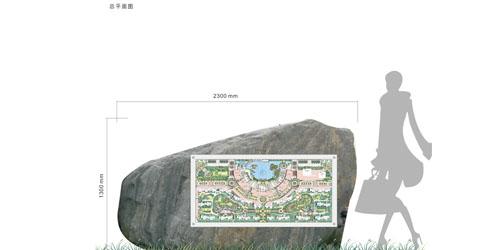 宝龙地产环湖商业街导视项目设计方案